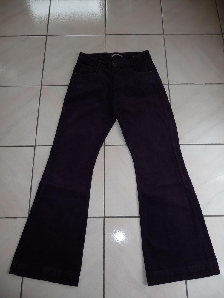 Pantalon velours côtelé fin prune 36/38 - NEUF  20 Montigny-le-Bretonneux (78)