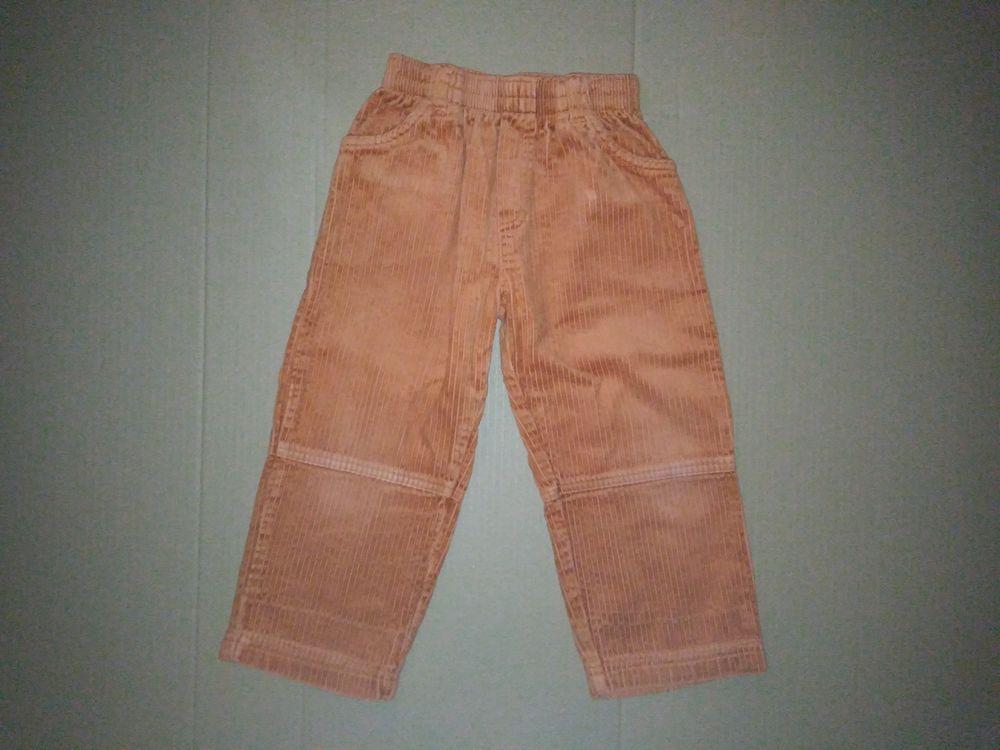 Pantalon velours côtelé couleur brique VERT BAUDETt 3 ans 3 Semoy (45)