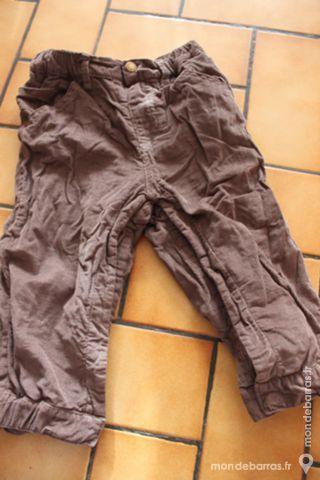 pantalon velours kitchoun marron 18 mois 8 Wervicq-Sud (59)
