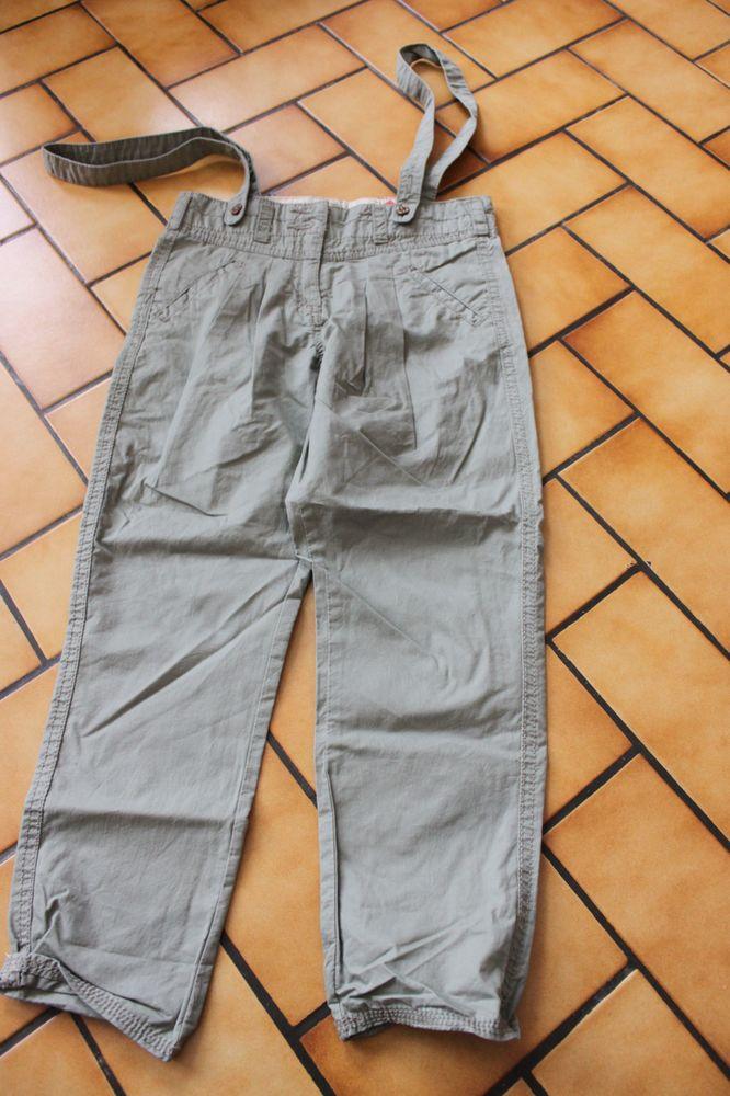 pantalon vert bretelles okaidi 6 ans neuf 10 Wervicq-Sud (59)