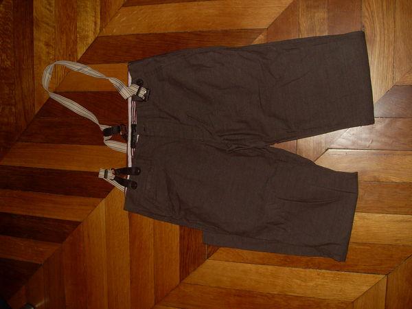 Pantalon ZARA de ville T 40 avc Bretelles 7 Vertaizon (63)