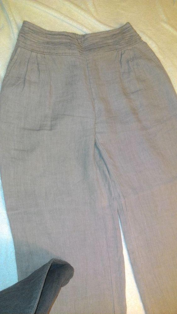 Pantalon en lin  10 Cussac-Fort-Médoc (33)