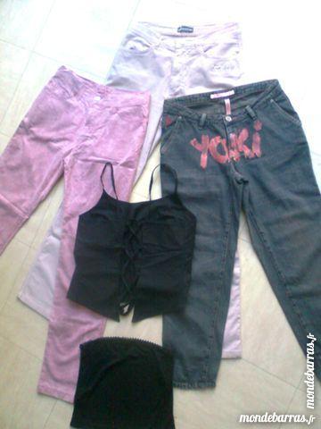 3 pantalons, bustier,dos nu, 36/38 - zoe 28 Martigues (13)