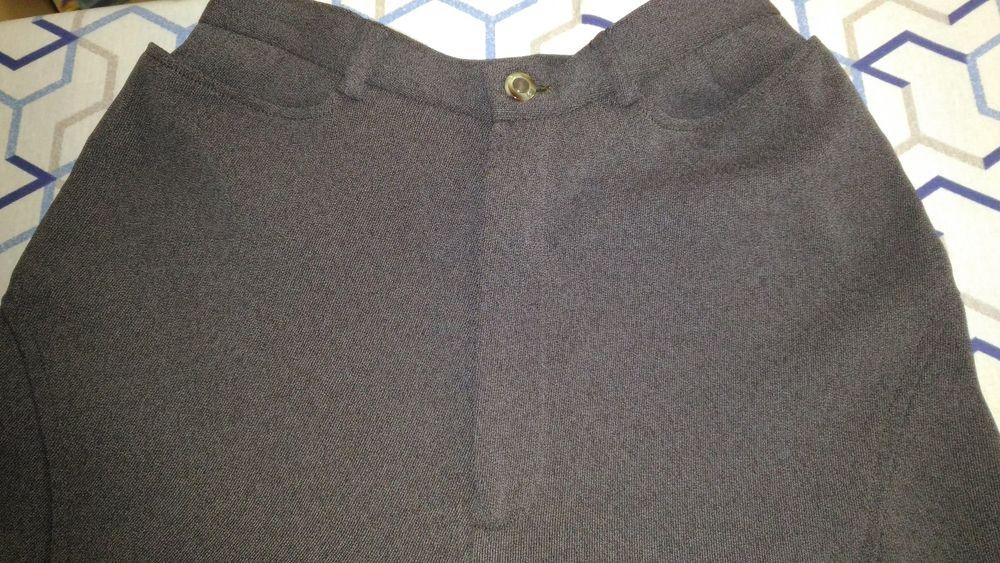 2 pantalons CACHAREL tissu marron sans motif extrêmement lég 30 Savigny-sur-Orge (91)