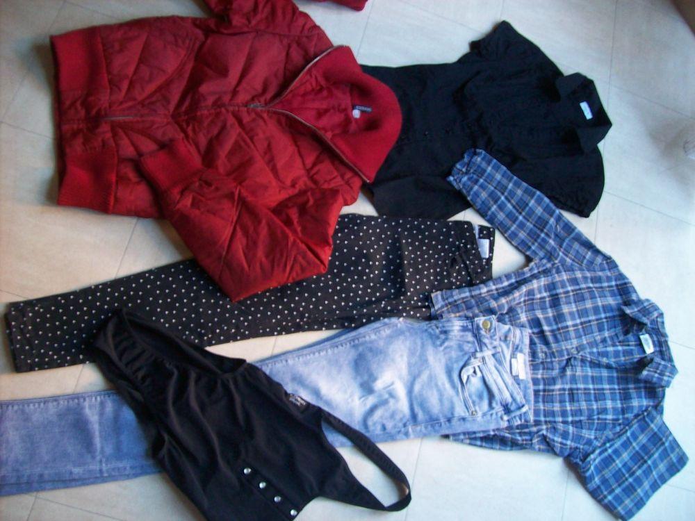 2 pantalons,chemisiers, maillot, parka - 34 - zoe 0 Martigues (13)