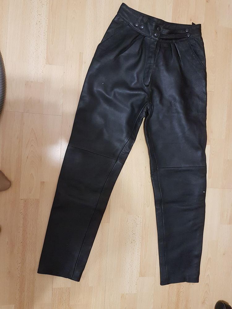 Pantalons en cuir  véritable 100 Saint-Astier (24)
