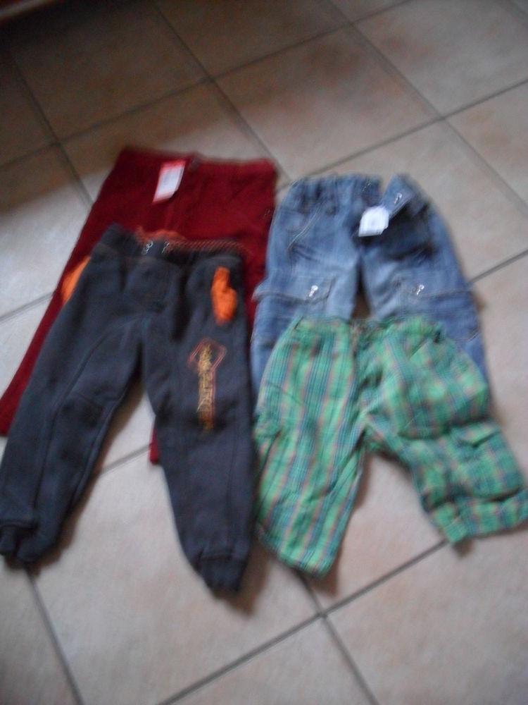3 pantalons dont 1 Marèse 1 bermuda pour garçon 2 Bauvin (59)