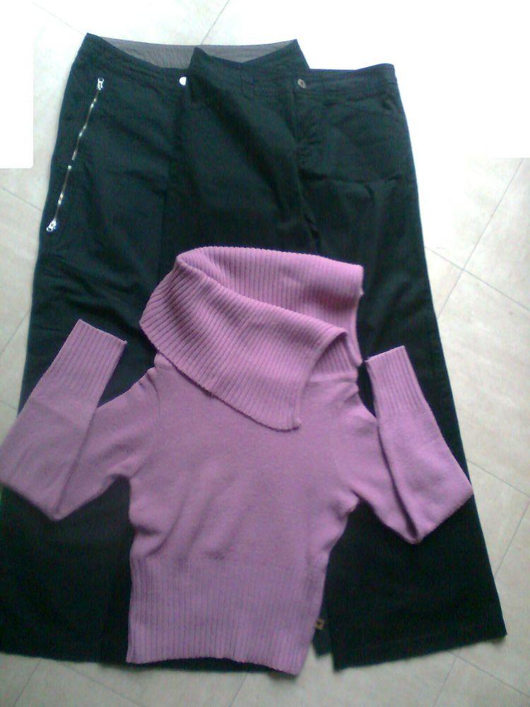 2 pantalons ESPRIT + 3 Pulls - 38 - zoe 5 Martigues (13)