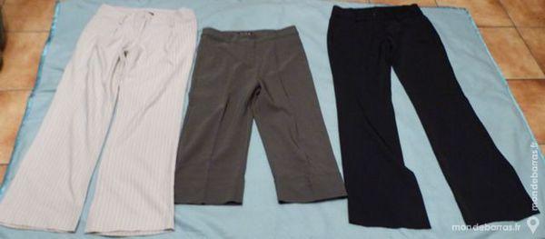 Lot 3 pantalons femme t 38 6 Écuisses (71)