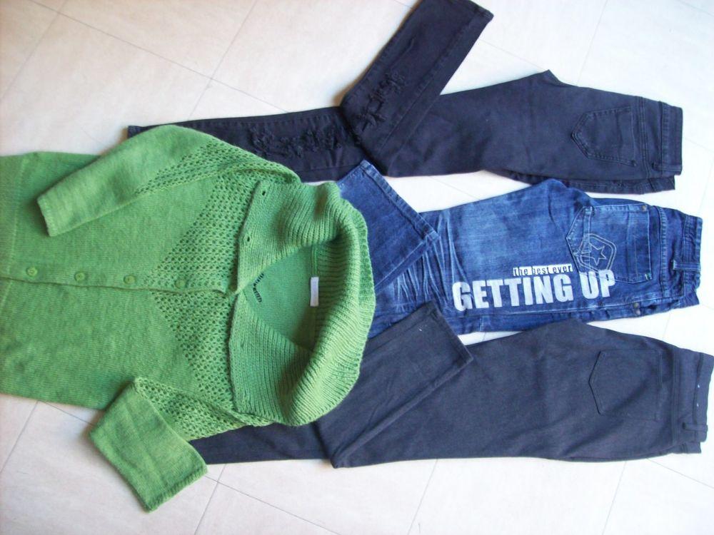 3 pantalons - 1 gilet - 36 - zoe 4 Martigues (13)