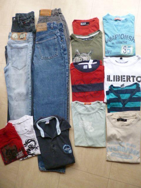 pantalons, pantacourt, tee shirts, 34 . 36 - zoe 2 Martigues (13)