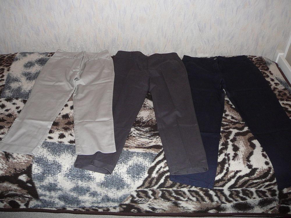 Lot 3 pantalons / pantacourts, femme, T40, comme neuf 5 Lens (62)