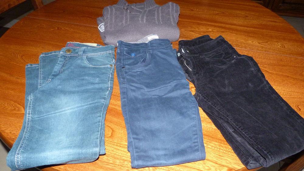 pantalons + pull enfant 12 Saint-Marcel (27)