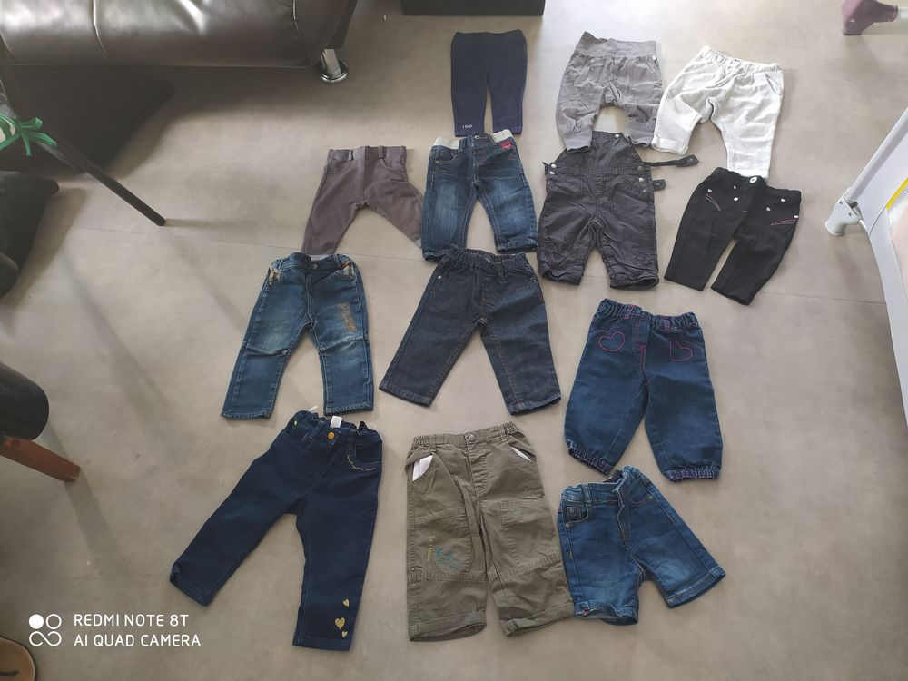 Je pantalons ou robes 12mois 1 Laneuveville-devant-Nancy (54)