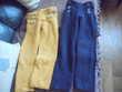 2 pantalons Terre de Marins 4/5 ans