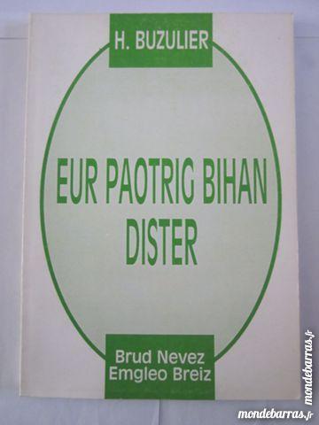 EUR PAOTRIG BIHAN DISTER livre écrit en BRETON Livres et BD