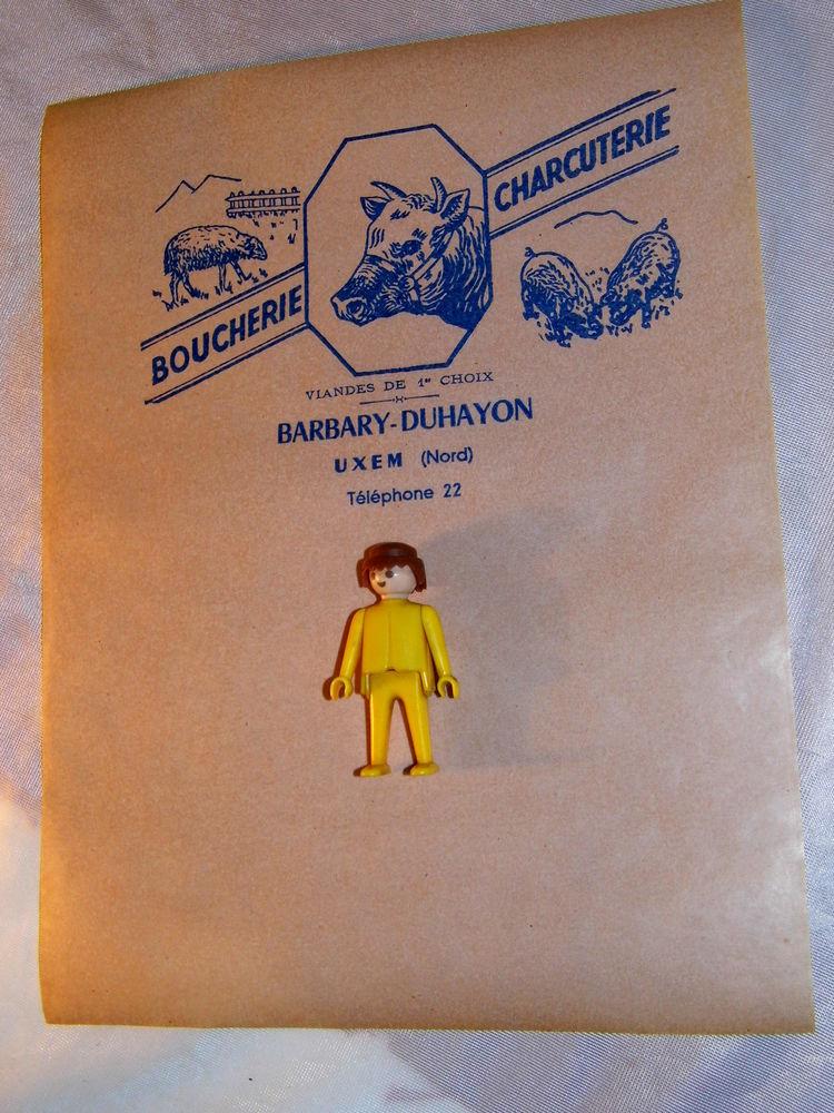10 Papiers publicitaire ancien boucherie UXEM boucher boeuf  10 Dunkerque (59)