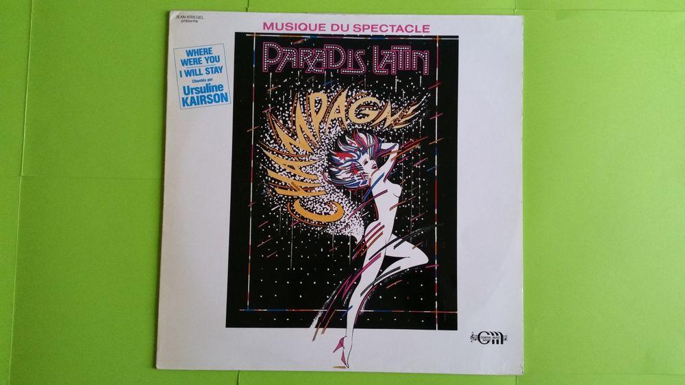 PARADIS LATIN CD et vinyles