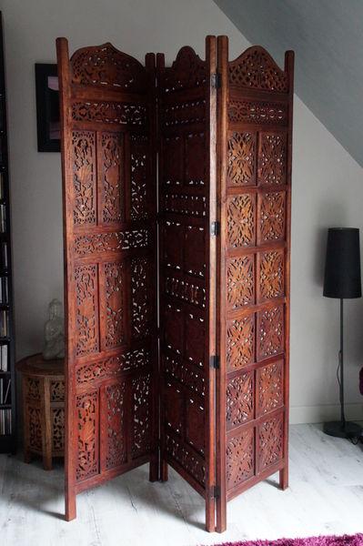 achetez paravent en bois neuf revente cadeau annonce vente bellengreville 14 wb152409356. Black Bedroom Furniture Sets. Home Design Ideas