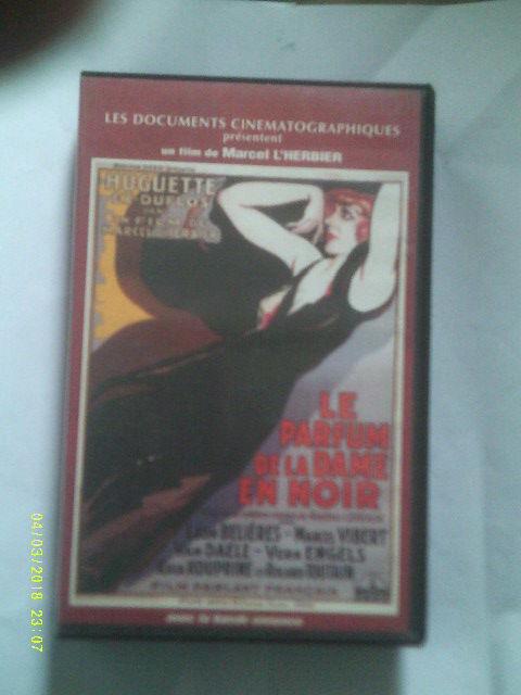 LE PARFUM DE LA DAME EN NOIR avec huguette Duflos DVD et blu-ray