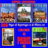 PARIS - géo - HISTOIRE DE PARIS / prixportcompris 18 Marseille 5 (13)