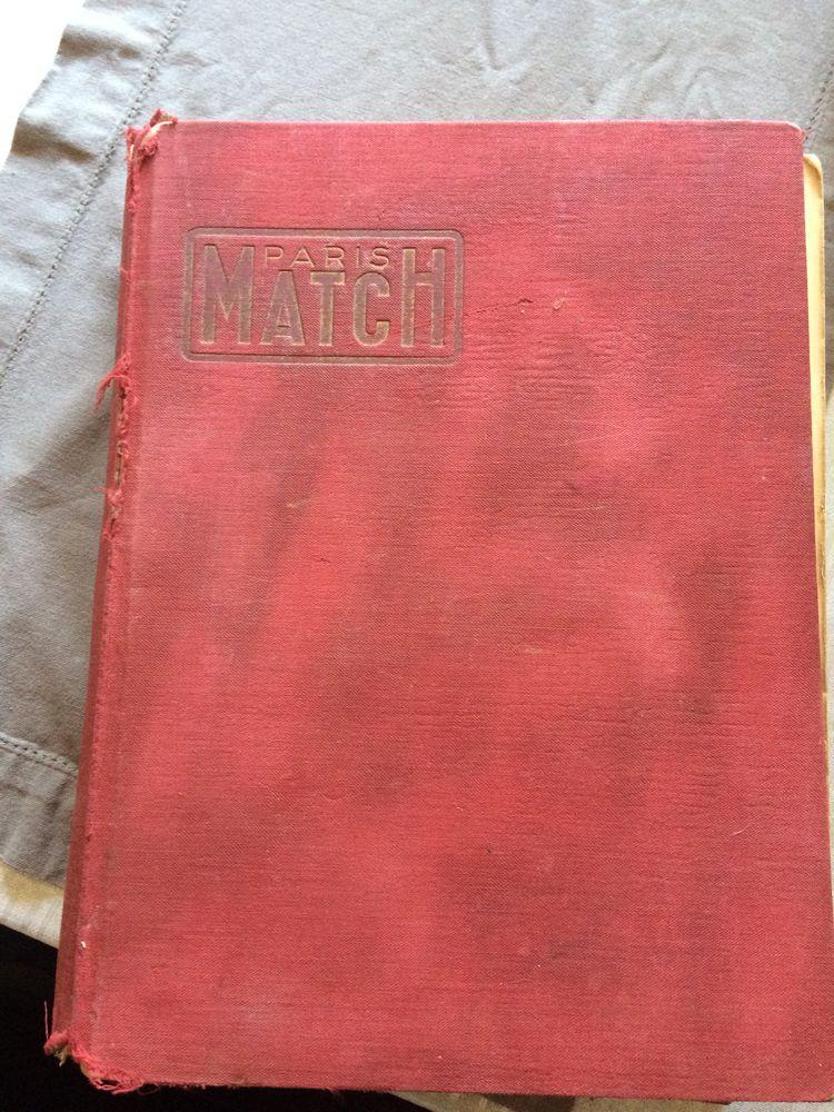 paris Match année 1952 150 Grésy-sur-Isère (73)