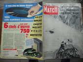 PARIS MATCH GOOD-BYE M.EDEN.VINCENDON ET HENRY ? 1957 6 Tours (37)