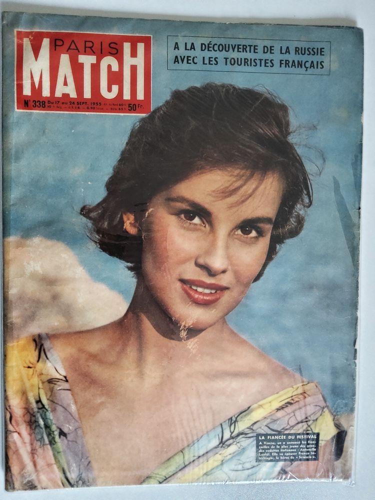 PARIS MATCH N°338 original de septembre 1955 5 Saint-Bonnet-les-Oules (42)