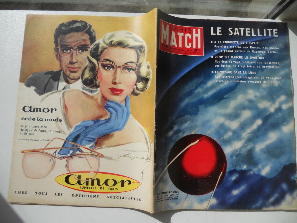 PARIS MATCH LE SATELLITE RUSSE SPOUTNIK 1957 9 Tours (37)