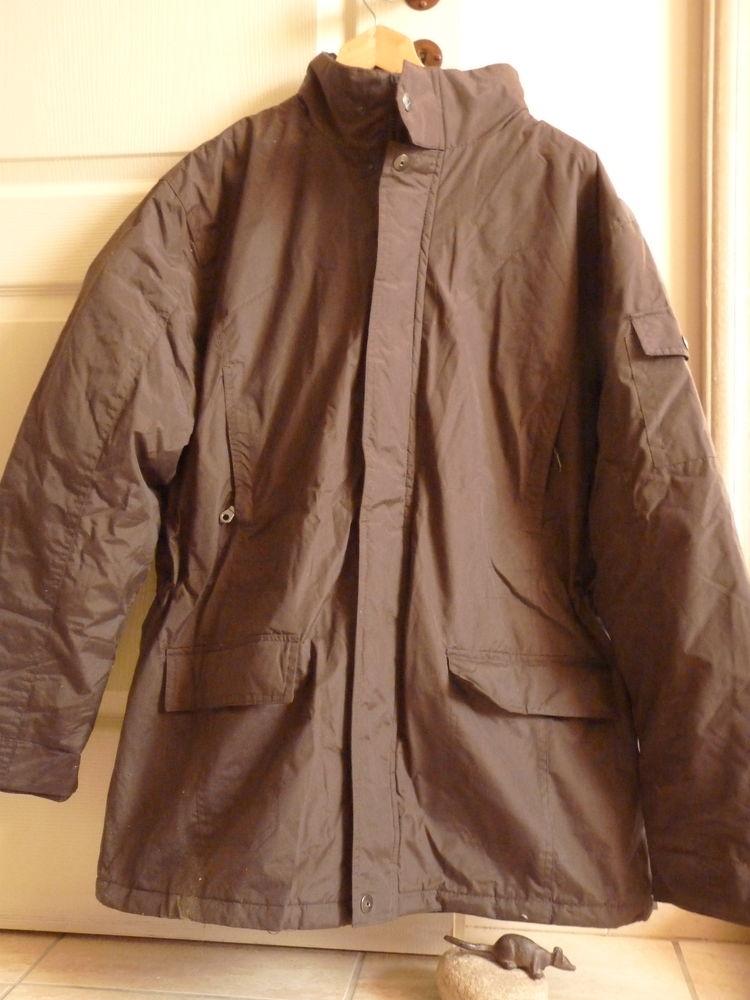 parka manteau homme L marron TBE 15 Brienne-le-Château (10)