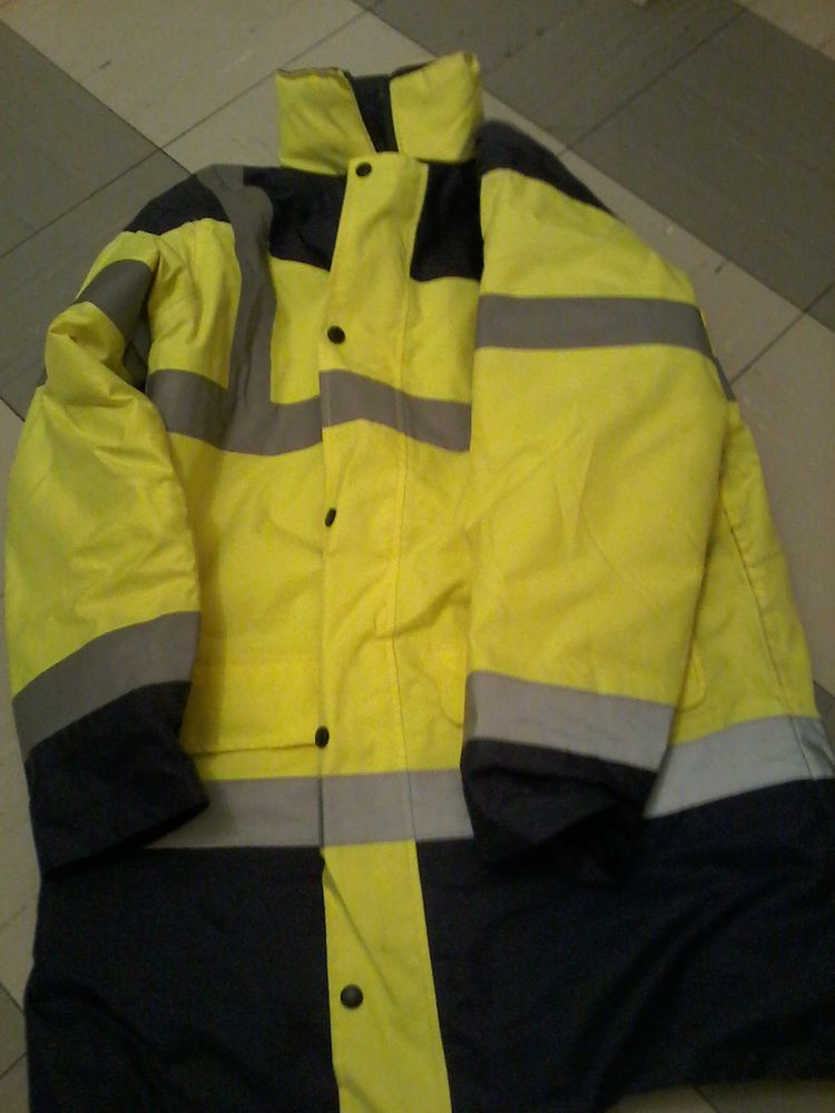 Parka mperméable jaune fluo neuf  25 Tourcoing (59)