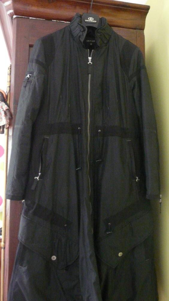 Parka noire femme taille 40 55 Lanester (56)