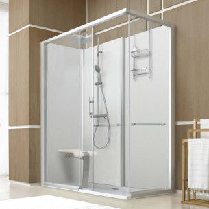 4 paroies de douche 80/120 avec armature  370 Mâcon (71)