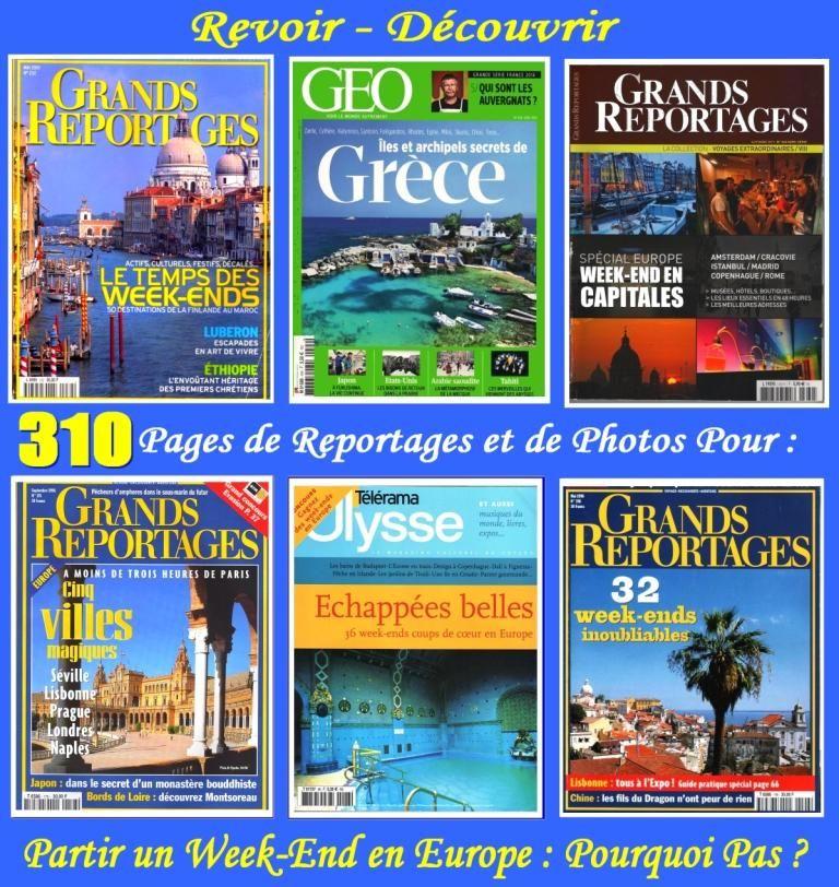 PARTIR un WEEK-END en EUROPE : POURQUOI  PAS ? 18 Lyon 4 (69)