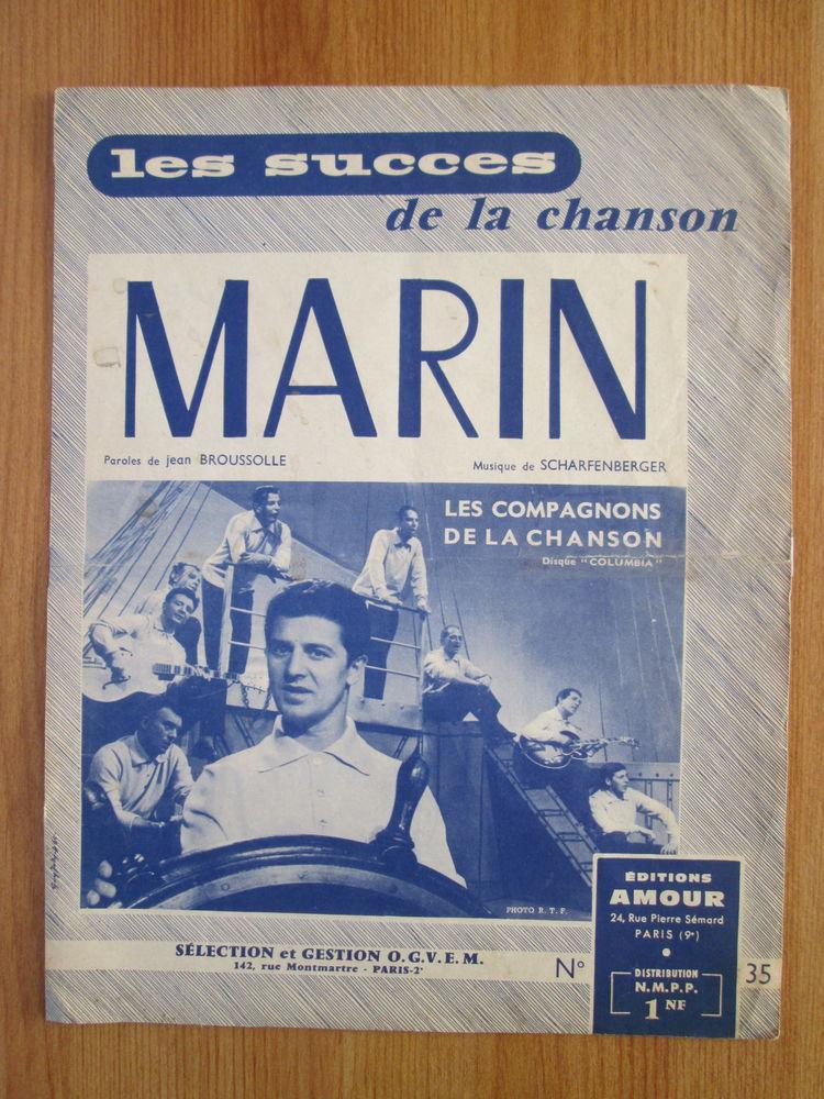 Partition ancienne Marin 5 Béthencourt-sur-Mer (80)
