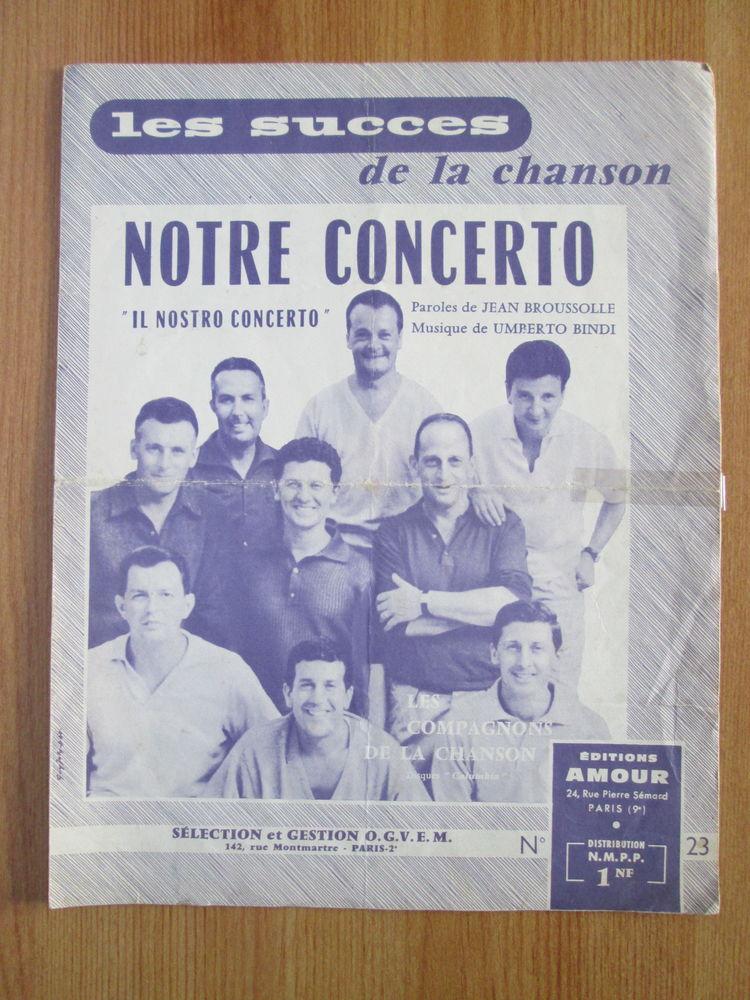 Partition ancienne Notre concerto