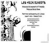 Partition instrumentale et lyrique LES YEUX OUVERT 15 Mimizan (40)