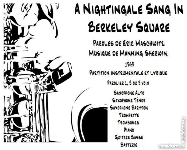 Partition «A Nightingale Sang In Berkeley Square» 15 Mimizan (40)