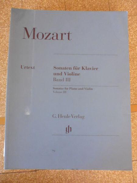 Partition Sonate pour Violon MOZART volume II & III 0 Sainte-Foy-lès-Lyon (69)