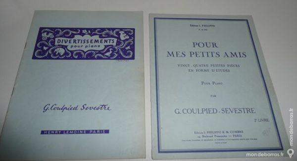 PARTITIONS PIANO DIVERTISSEMENT/POUR MES PETITS 20 Meaux (77)