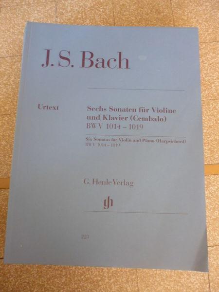 Partitions Sonate pour Violon J.S.BACH 0 Sainte-Foy-lès-Lyon (69)