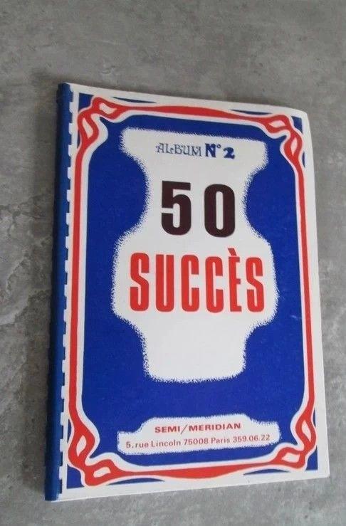 partitions 50 succès : album n° 2 7 Bilieu (38)