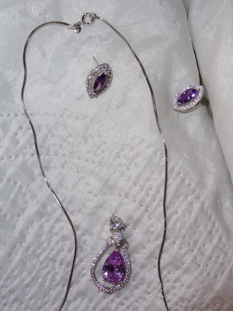 parure améthyste-zirconium, neuve 85 Châtenay-Malabry (92)