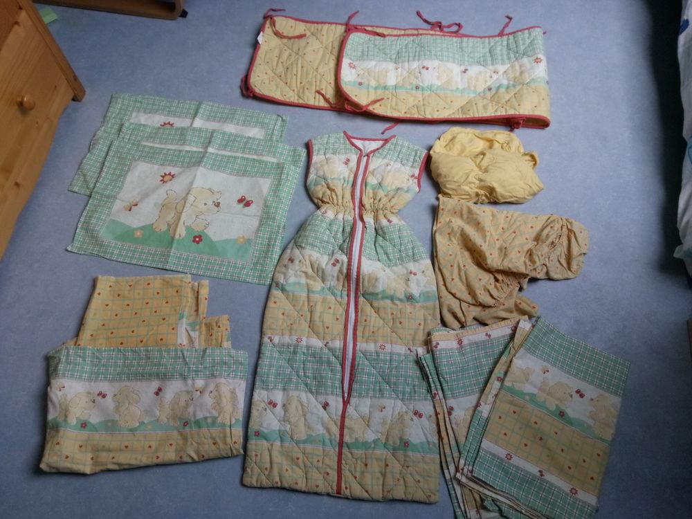 Parure de draps lit bébé quasi neuve 18 Hazebrouck (59)