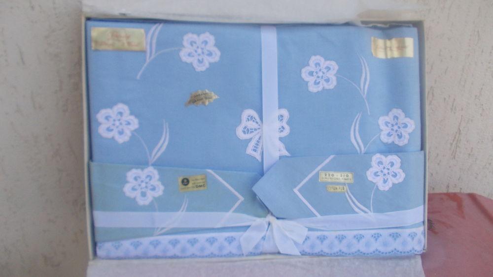 parure draps bleu 85 Thiais (94)