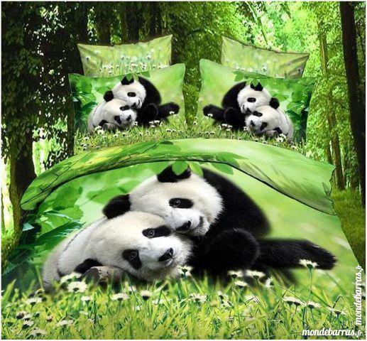 Parure de lit 3D motif Panda 129 Nalliers (85)