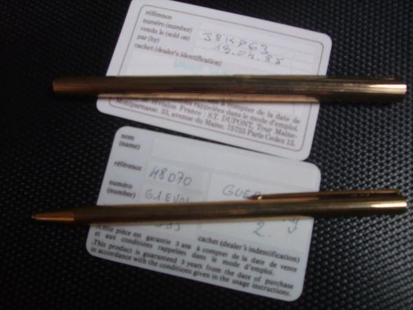 parure stylos ST DUPONT 0 Saint-Ouen-l'Aumône (95)