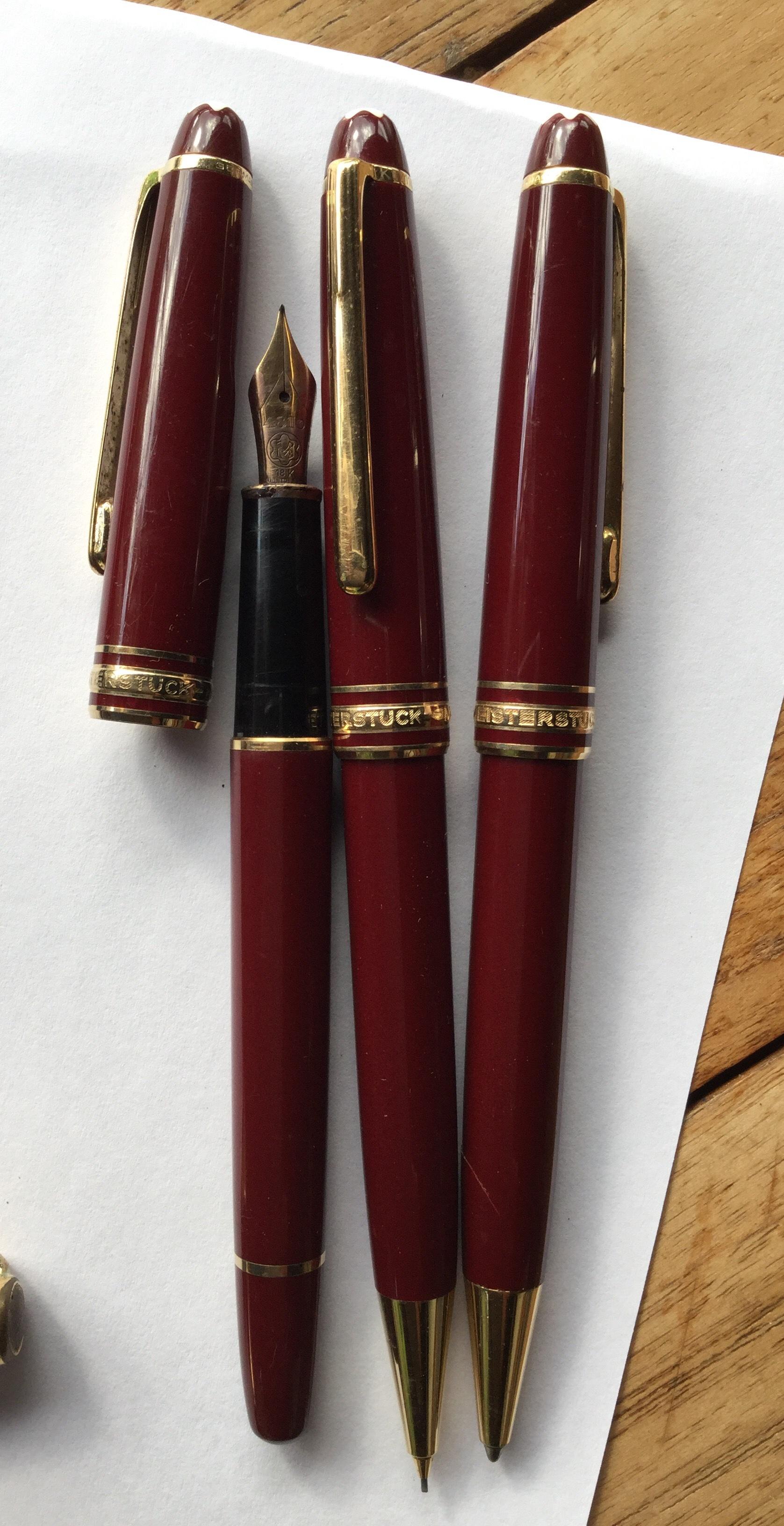 vente stylo mont blanc occasion