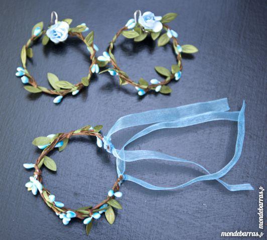 Parure turquoise bijoux végétaux 20 Saintry-sur-Seine (91)
