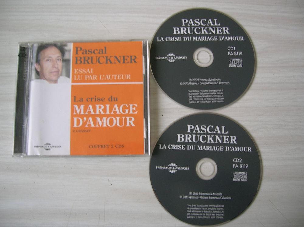 CD PASCAL BRUCKNER La crise du mariage d'amour 8 Nantes (44)
